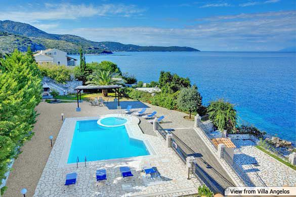 Villa Angelos, Kassiopi, Corfu, Greece. Find more at www.villaplus.com