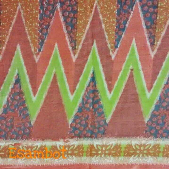 Rangrang Pattern. I got this fabric from Pasar Sentanu, a  central traditional fabrics and clothes market in Pekalongan, Central Java.