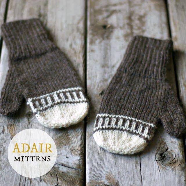 The Sitting Tree: A New Knitting Pattern: Adair Mittens