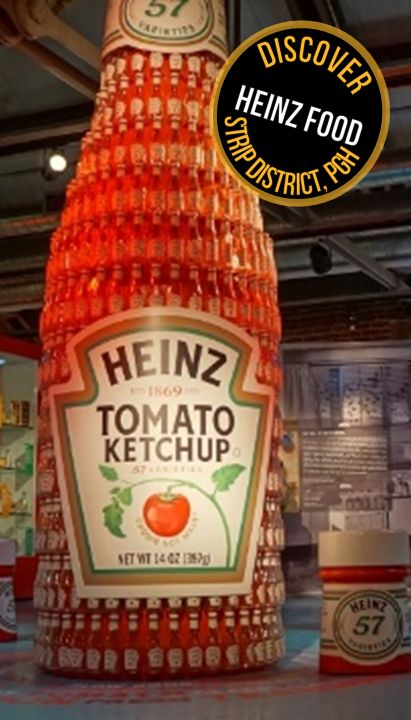 One of the coolest local museums in Pittsburgh - the Heinz history museum!