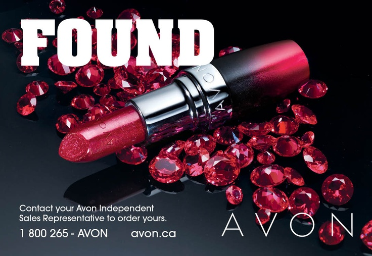 Contact your Avon Independent Sales Representative today or visit http://www.ca.avon.com/PRSuite/locator.page to find one near you!