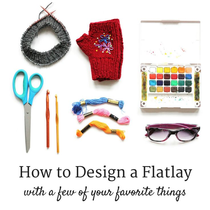 How To Design A Flatlay The Easy Way
