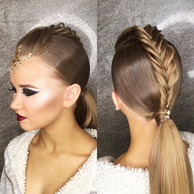 Hairstyle By Me Make Up By Korbutdv Style Ballroom Ballroomdance Ballroomdancing Dance Hairstyles Competition Hair Ballroom Dancing Hairstyles