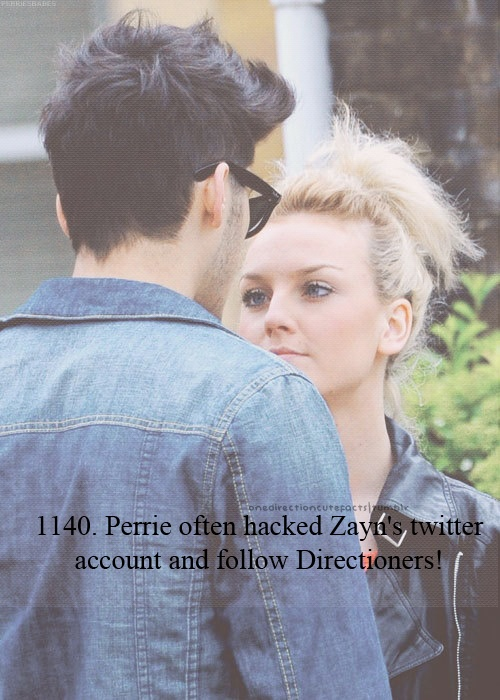 Loves! Follow miss @Perrie Edwards   haha xxx no she has a new one :) @Kacie pin her  new one :)