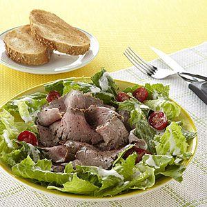 13 Easy Recipes for Leftovers | Steak Salad | AllYou.com