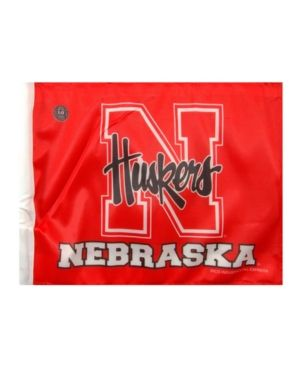 Rico Industries Nebraska Cornhuskers Car Flag - Red