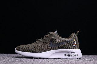 6e087dd76e8b Mens Womens Shoes Nike Roshe Run FIFA World Cup Russia 2018 Army Green White