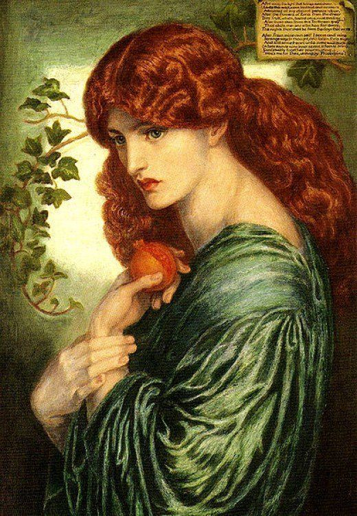 Persephone is one of the deities of the Greek pantheon who is often overlooked, but she was the daughter of Demeter and Zeus, as well as the wife of Hades, so an important goddess in Ancient Greece.