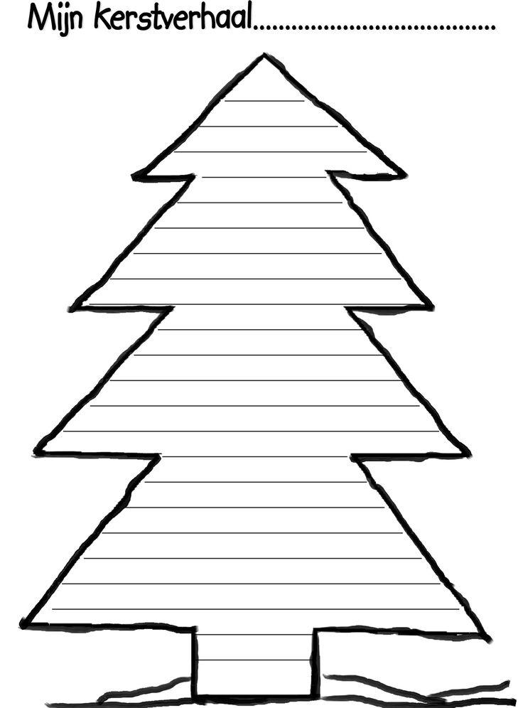 Leuk kader om een Kerstverhaal in te schrijven. Om kinderen op weg te helpen kun je een rijtje met spannende eerste zinnen erbij cadeau geven, zoals: Op een koude decemberdag...., Het was donker en koud..., Achter de Kerstboom in de kamer...., Er klonk een vreemd geluid..... en verzin zelf maar lekker verder!