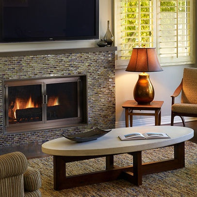 Mosaic Tile Fireplace Design Pictures Remodel Decor And Ideas Page 4