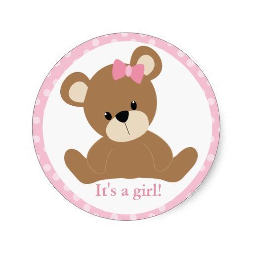 It S A Girl Clip Art Baby Ideas Pinterest Teddy Bear