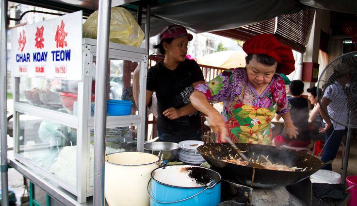 Penang - Goggle Lady Fried Kway Tiao