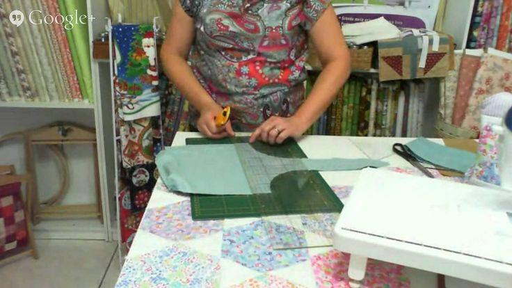 Patchwork Ao Vivo com a Tia Lili #10: bolsas de patchwork e bolsinha jap...