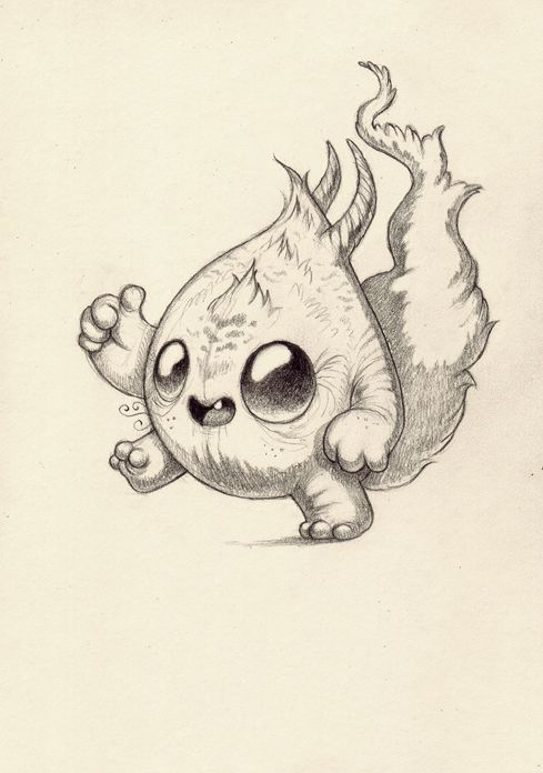 25 best ideas about monster drawing on pinterest