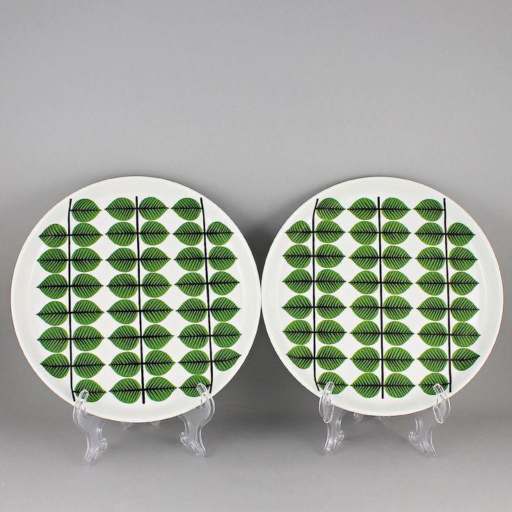 Stig Lindberg (Bersa 1961) Two Iconic Medium Plates