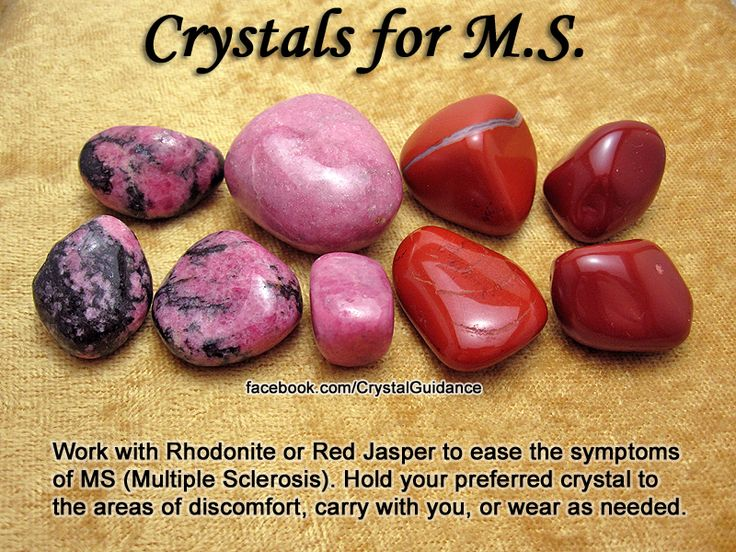Crystal Guidance: Crystal Tips and Prescriptions - MS Multiple Sclerosis Crystals stones rocks magic love healing