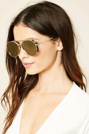 Senhora Óculos de Sol - Forever 21 Aviator Sunglasses