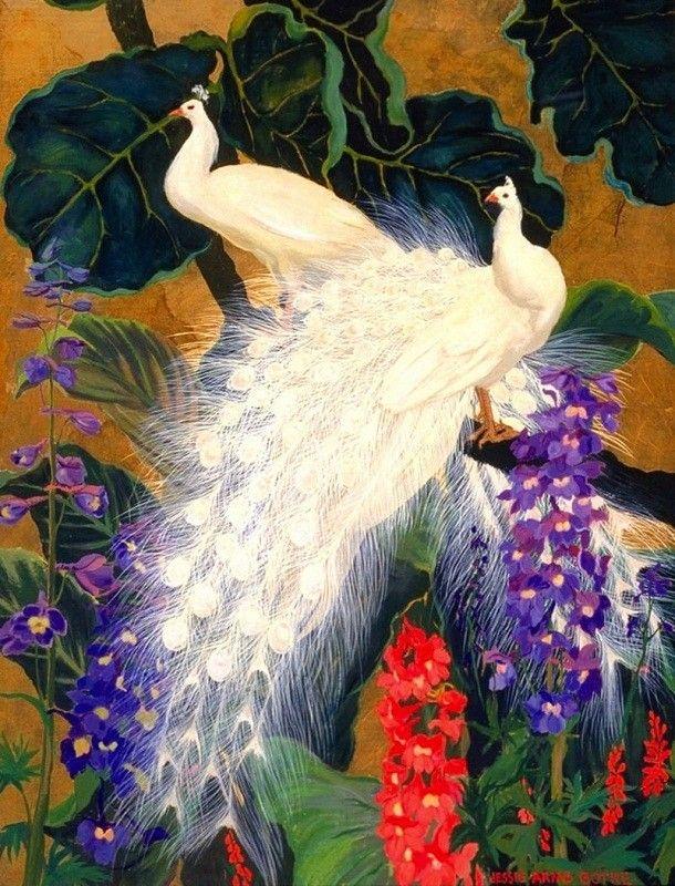Jessie Hazel Arms Botke (1883-1971) —  (610x800)