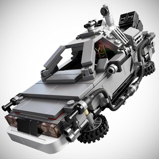 DeLorean Time Machine Building Set by LEGO