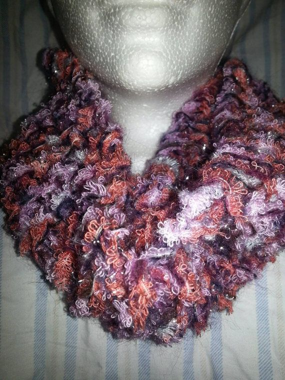 Check out this item in my Etsy shop https://www.etsy.com/ca/listing/200832321/cowl-made-with-loops-threads-glamorous