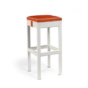 palermo backless bar stool cushion