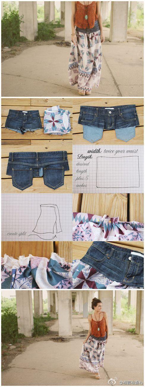 Schnell und einfach gemacht: Neues Leben für eine alte Jeans!