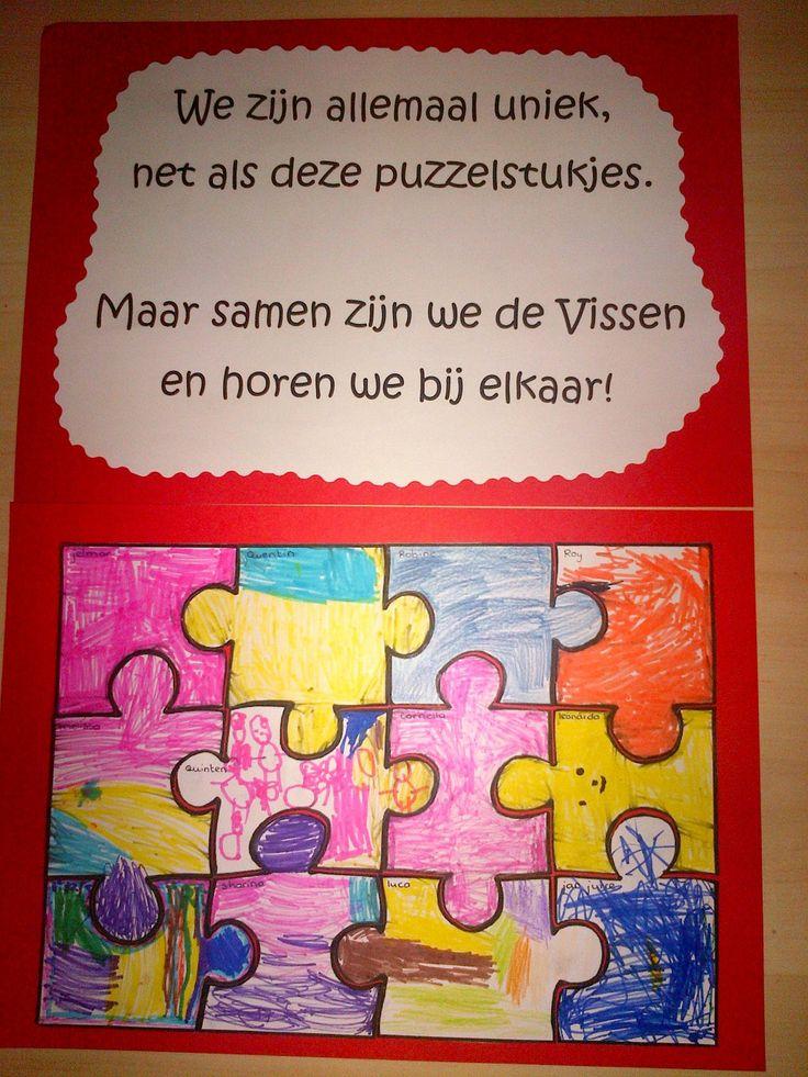 Unieke puzzelstukjes