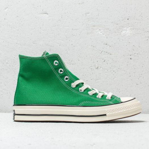 c8517630f467c Converse Chuck Taylor 70 HI Green  Black  Egret au meilleur prix 92 € Achetez  sur Footshop