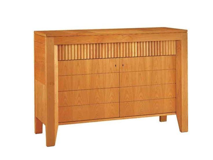 Aparador de madera con cajones CREDENZA '900 SCACCHI - Morelato