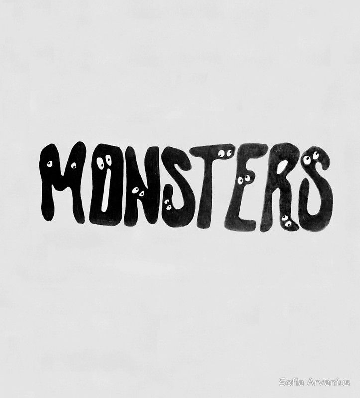 Monsters illustration by Sofia Arvanius.