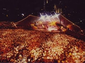 Carols by Candlelight, Christmas Eve, Melbourne. I have yet to be to one, although I watch it every year.