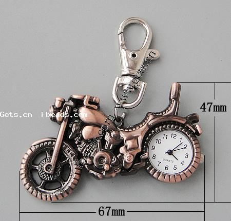 Zinc Alloy Motorcycle Ladies Atomic Watch 253304
