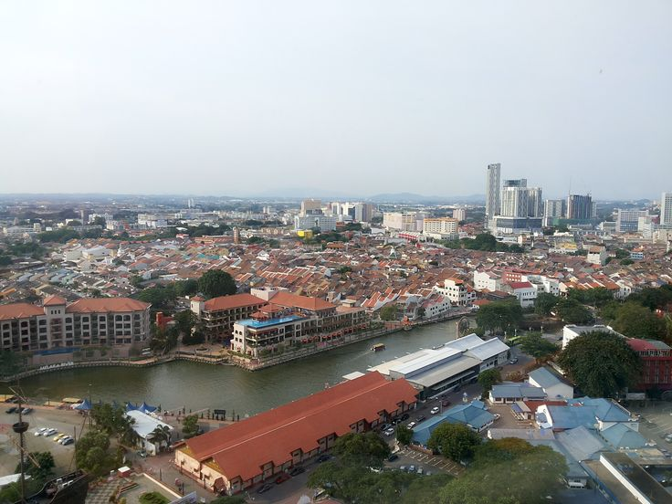 the view from Taming Tower, Malacca - Malaysia