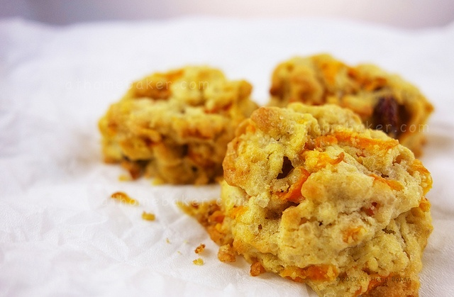 Carrot Raspberry Cookie by Anne and Ray, via Flickr