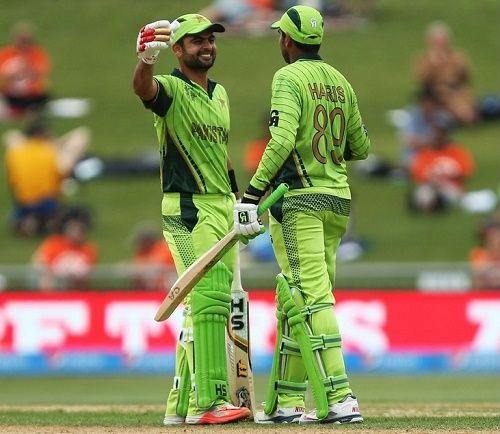 Pakistan beat United Arab Emirates by 129 runs to claim their second win in 2015 cricket world cup at Napier. Ahmed Shehzad was awarded Man of The Match.