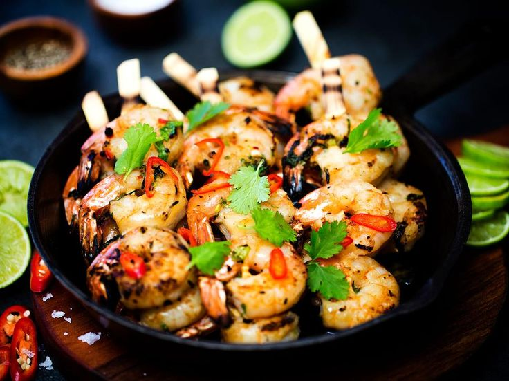 Recipe: Barbecue Prawns with Lime - Angela Casley's barbecue prawns are hit on the barby!