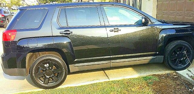 Blacked out 2013 GMC Terrian