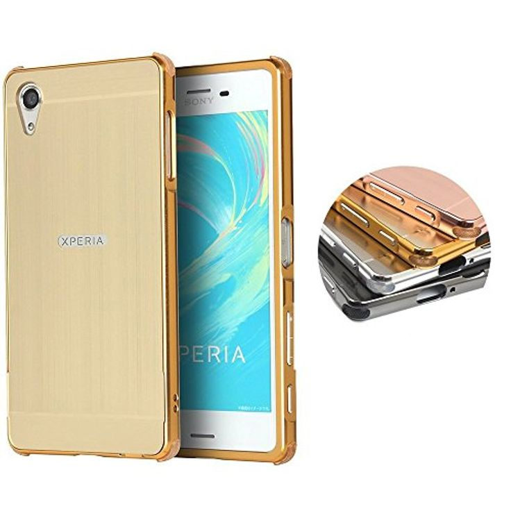 Sony Xperia XZ Case, AVIDET Shock-Absorption and Anti-Scratch Aerocraft Aluminum+PC Back Case Cover for Sony Xperia XZ (Gold) -- Awesome products selected by Anna Churchill