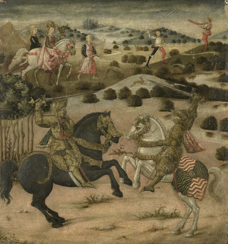 Legend of a Knight, 1450-1474. Rijksmuseum, Public Domain