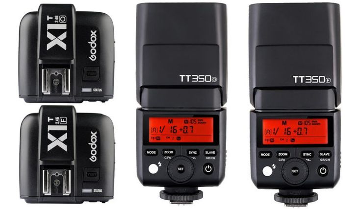 I haven't used these myself, but they seem to get good reviews on Amazon and the price point is good.  Chinese lighting manufacturer Godox has already released a few products in 2017 that have helped a lot of strobists build lighting kits with a modest investment. Most notably the Godox AD-200 (Flashpoint eVolv) has become a crowd favorite for a portable and powerhouse flash. More recently they added Fuji and Olympus/Panasonic versions of the TT350 …
