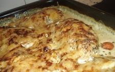 Kycklinggratäng med dijonsenap och basilika LCHF - recept från Matklubben.se