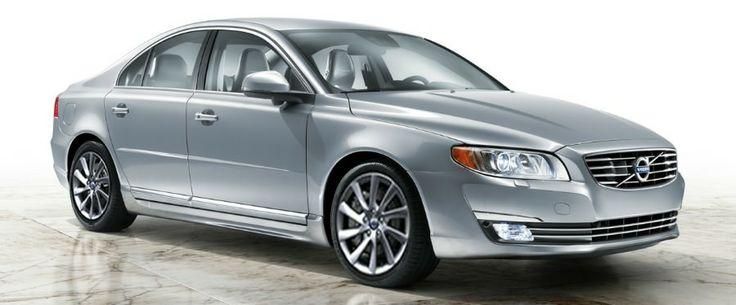 srebrne Volvo S80 rocznik 2014
