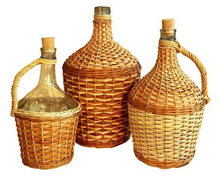 Купите бутыль для вина и самогона (5, 10 литров). Продажа стеклянных бутылей в Москве.