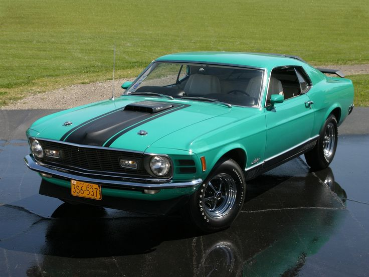 1970 Ford Mustang Mach-1 428 Super Cobra Jet