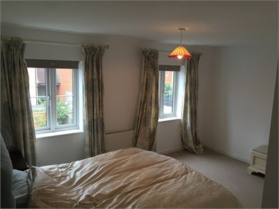 Double room for rent in Stevenage, Hertfordshire. Large and bright double room overlooking garden in Great Ashby.