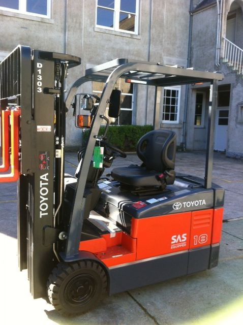 Our Forklift, thanks to Toyota Material Handling