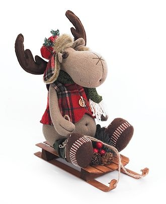 Cute Christmas Moose