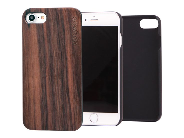 iPhone 7 wood case with walnut backplate & shock absorption protective polycarbonate sides. #iPhone7 #wood #wood #case