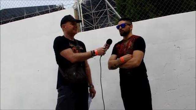 Aprovechando la presentación de Lords of Black en directo en el leyendas del Rock 2016, contactamos con el vocalista Ronnie Romero quien amablemente nos comentó algunos detalles de su banda y la pasada experiencia como vocalista de Rainbow.   Siguenos en: Web: www.madeinmetal.es Facebook: https://www.facebook.com/madeinmetal Twitter: https://twitter.com/Madeinmetalhoy Instagram: https://instagram.com/madeinmetal/ Youtube: https://www.youtube.com/channel/UCugOaJ-vT2zBl-2vlQBx2Rw Pinterest…