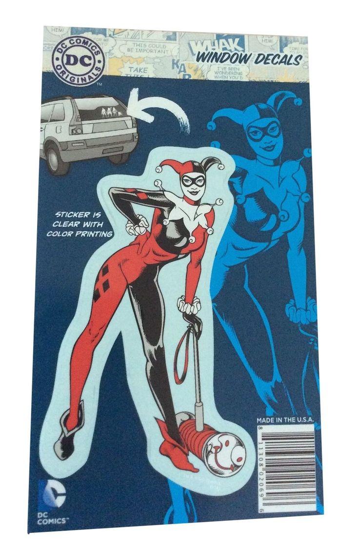 DC Comics Harley Quinn Full Color Decal